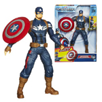 Captain America Winder Soldier Electronic Action Figure