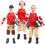 Three Stooges No Census No Feeling Action Figure