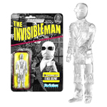 Universal Monsters Clear Invisible Man ReAction Figure