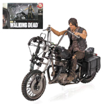 The Walking Dead Daryl Dixon Action Figure and Motorcycle