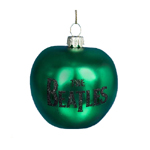 Beatles Lithograph Green Apple Ornament