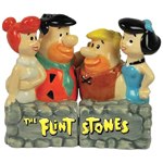 The Flintstones and Rubbles Salt and Pepper Shakers Set