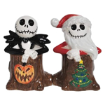 Nightmare Before Christmas Holiday Jack Skellingtons Salt and Pepper Shakers