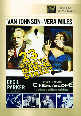 Fox Cinema Archives 23 Paces to Baker Street DVD