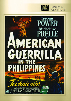 Fox Cinema Archives American Guerrilla in the Philippines DVD