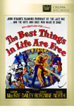 The Best Things in Life Are Free DVD
