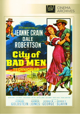 Fox Cinema Archives City of Bad Men DVD
