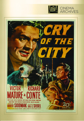 Fox Cinema Archives Cry of the City DVD