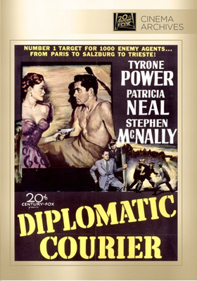 Fox Cinema Archives Diplomatic Courier DVD