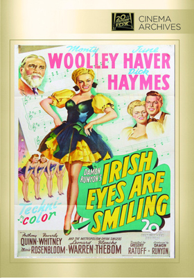 Fox Cinema Archives Irish Eyes Are Smiling DVD-R
