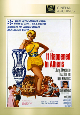 Fox Cinema Archives It Happened in Athens DVD-R