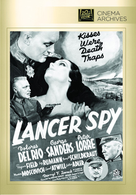 Fox Cinema Archives Lancer Spy DVD-R