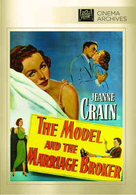 Fox Cinema Archives The Model and the Marriage Broker DVD-R