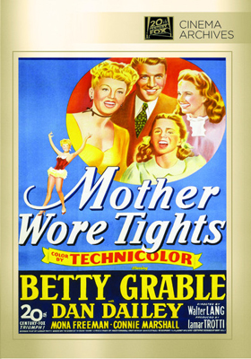 Fox Cinema Archives Mother Wore Tights DVD-R