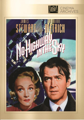Fox Cinema Archives No Highway in the Sky DVD-R