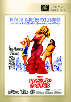 Fox Cinema Archives The Pleasure Seekers DVD-R