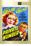 Private Number DVD
