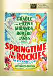 Springtime in the Rockies DVD