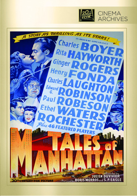 Fox Cinema Archives Tales of Manhattan DVD-R