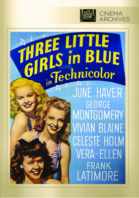 Fox Cinema Archives Three Little Girls in Blue DVD-R