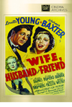 Wife, Husband and Friend DVD