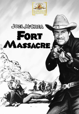 MGM Limited Edition Collection Fort Massacre DVD
