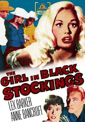 MGM Limited Edition Collection The Girl in Black Stockings DVD