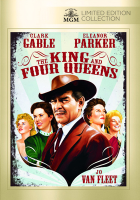 MGM Limited Edition Collection The King and Four Queens DVD