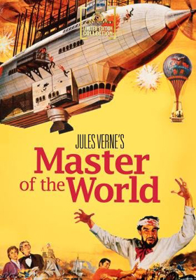 MGM Limited Edition Collection Master of the World DVD