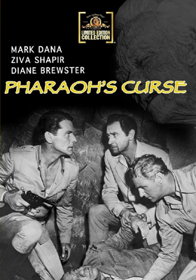 MGM Limited Edition Collection Pharaoh's Curse DVD