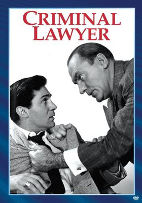 Sony Pictures Choice Collection Criminal Lawyer DVD