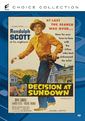 Sony Pictures Choice Collection Decision at Sundown DVD