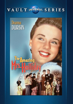 Universal Vault Series The Amazing Mrs. Holliday DVD