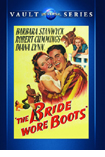 The Bride Wore Boots DVD