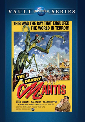 Universal Vault Series The Deadly Mantis DVD