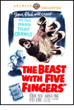 The Beast with Five Fingers DVD