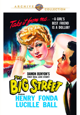 Warner Archive The Big Street DVD-R