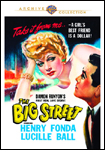 The Big Street DVD