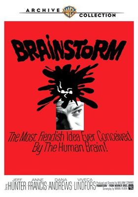Warner Archive Brainstorm DVD-R