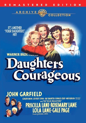 Warner Archive Daughters Courageous DVD-R