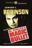 Doctor Ehrlich's Magic Bullet DVD