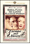 Escape Me Never DVD