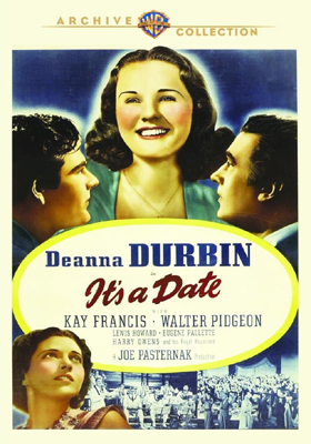 Warner Archive It's a Date DVD
