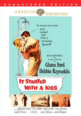 Warner Archive It Started With a Kiss DVD-R