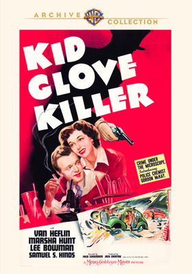 Warner Archive Kid Glove Killer DVD-R
