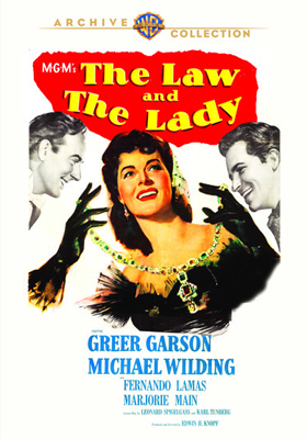 Warner Archive The Law and the Lady DVD-R