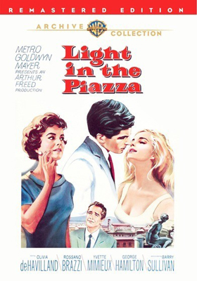 Warner Archive Light in the Piazza DVD-R
