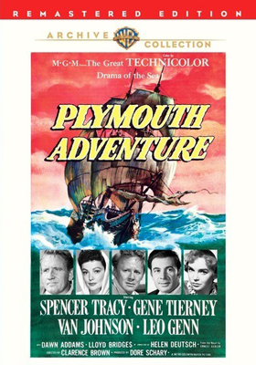 Warner Archive Plymouth Adventure DVD-R