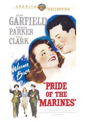 Warner Archive Pride of the Marines DVD-R