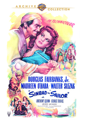 Warner Archive Sinbad the Sailor DVD-R